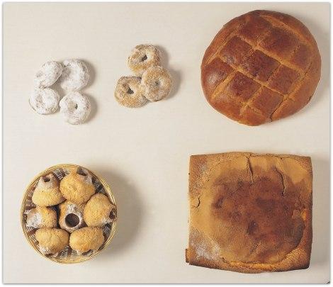 Dulces típicos: roscos de anís, soplillos, pan de aceite...